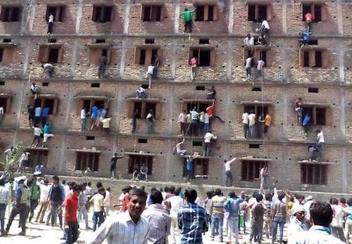 Bihar cheating copy