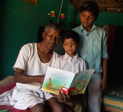 family-reading