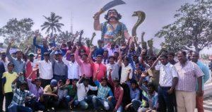 Mysore-city-celebrated-Mahishana-Habba_1-e1457181342460